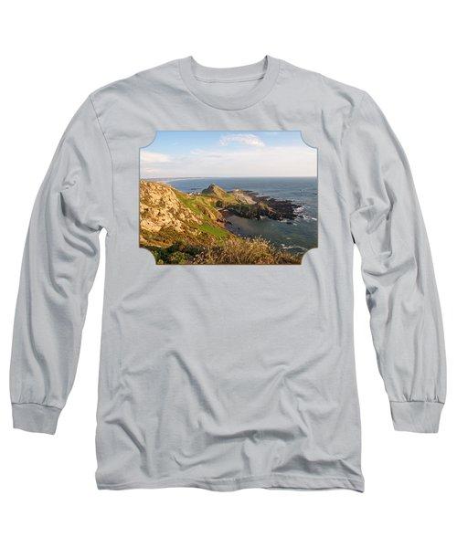 Scenic Coastline At Corbiere Long Sleeve T-Shirt