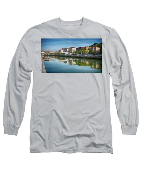 Scenic River View Long Sleeve T-Shirt by James Hammond