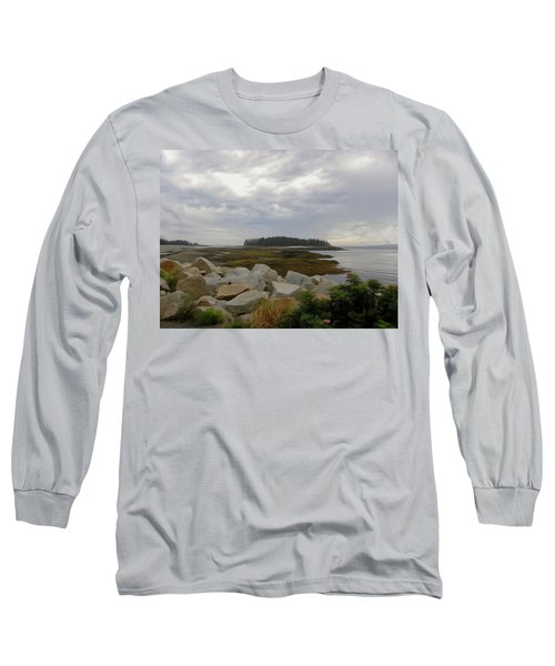 Schoodic Point Maine Long Sleeve T-Shirt