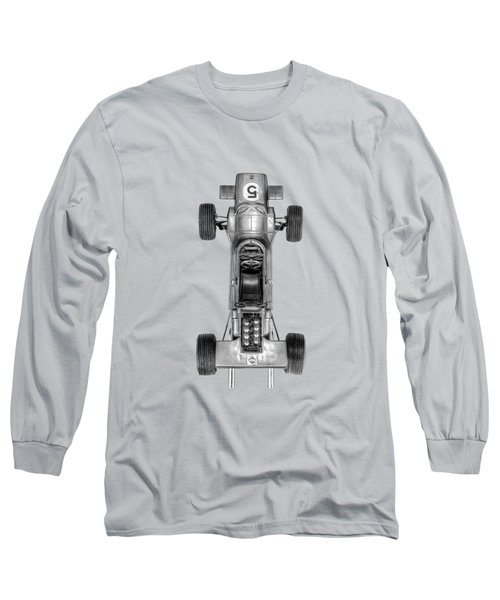 Long Sleeve T-Shirt featuring the photograph Schuco Matra Ford Top Bw by YoPedro