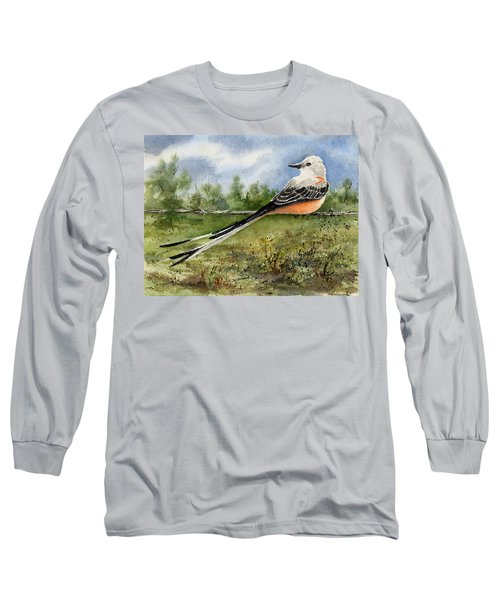 Scissor-tail Flycatcher Long Sleeve T-Shirt