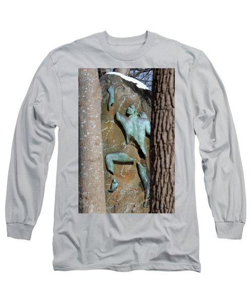 Sculpture Stony Brook New York Long Sleeve T-Shirt