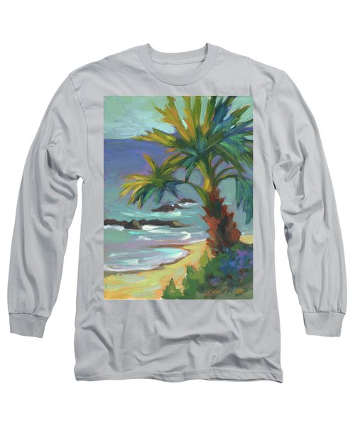 Sea Breeze Long Sleeve T-Shirt by Diane McClary