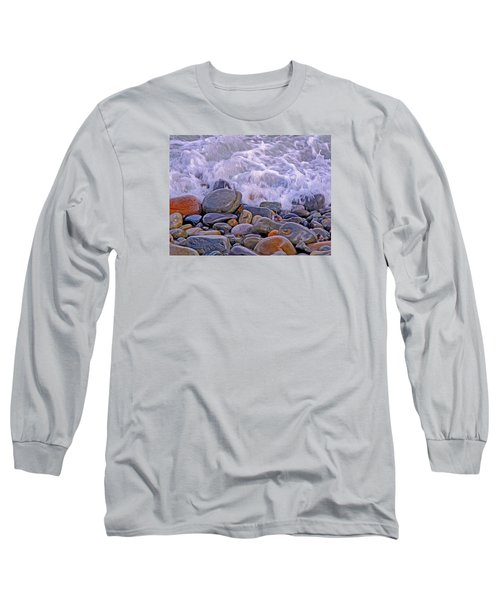 Sea Covers All  Long Sleeve T-Shirt by Lynda Lehmann
