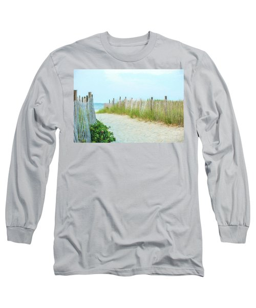 Sea Gull Beach #1 Long Sleeve T-Shirt