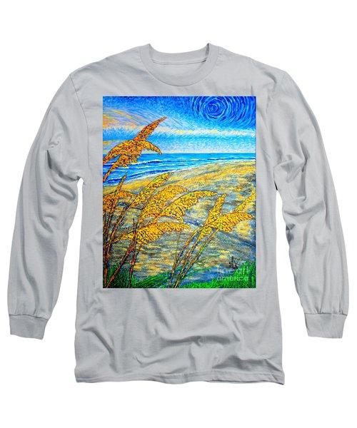 Sea Oats Dual#2 Long Sleeve T-Shirt