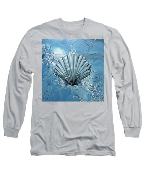 Long Sleeve T-Shirt featuring the painting Sea Scalop by William Love