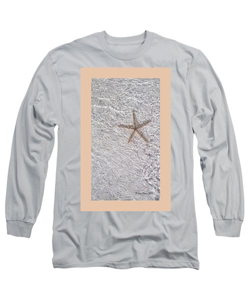 Long Sleeve T-Shirt featuring the photograph Sea Star 11 Anna Maria Island by Jean Marie Maggi