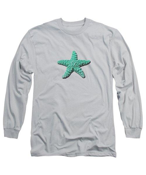 Sea Star Aqua .png Long Sleeve T-Shirt