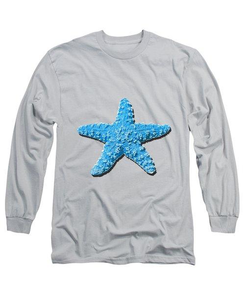 Sea Star Light Blue .png Long Sleeve T-Shirt