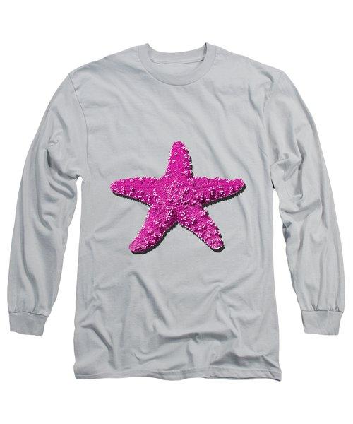 Sea Star Pink .png Long Sleeve T-Shirt