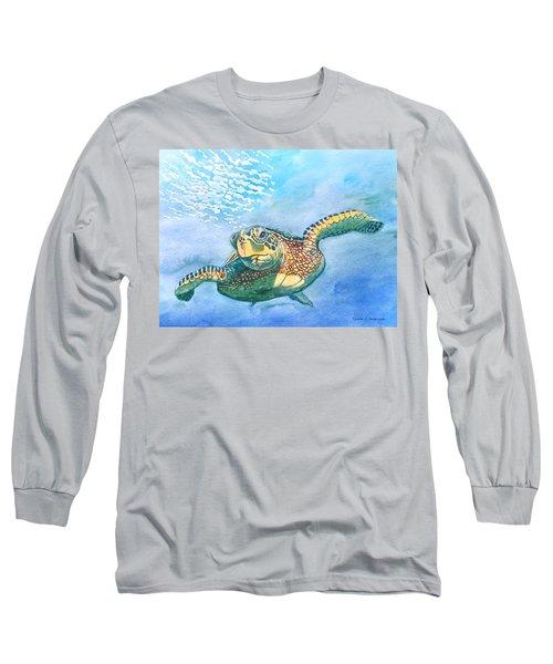 Sea Turtle Series #2 Long Sleeve T-Shirt