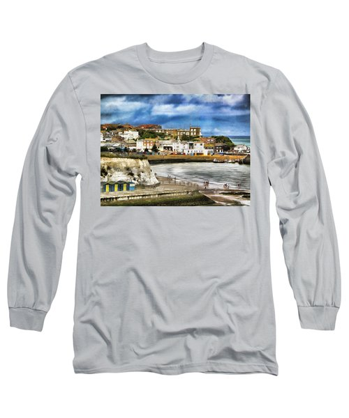 Seafront Broadstairs Kent Long Sleeve T-Shirt