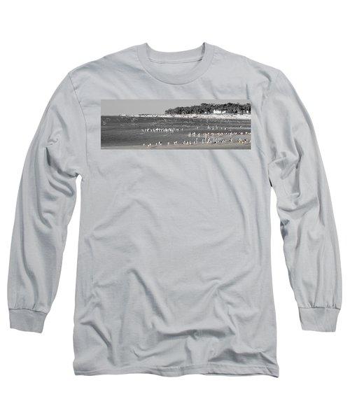 Seascape Gulf Coast, Ms F10e Long Sleeve T-Shirt