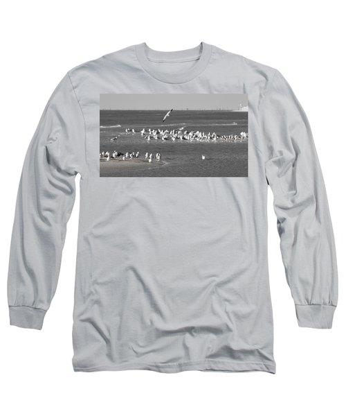 Seascape Gulf Coast, Ms F10j Long Sleeve T-Shirt