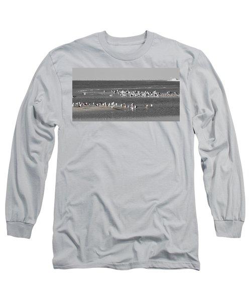 Seascape Gulf Coast, Ms F20d Long Sleeve T-Shirt