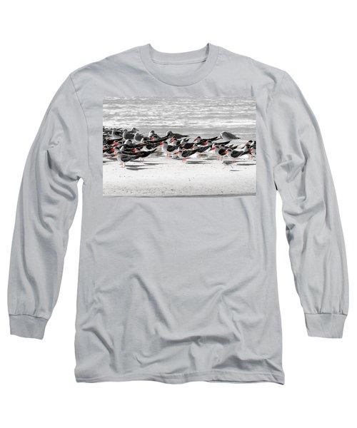 Seascape Gulf Coast, Ms F40n Long Sleeve T-Shirt