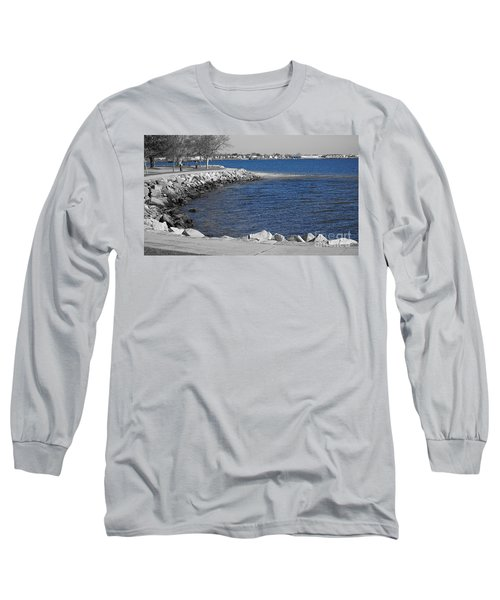 Seaside Blue Long Sleeve T-Shirt