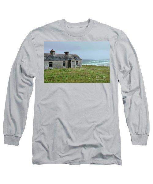 Seaside Cottage Belmullet Long Sleeve T-Shirt