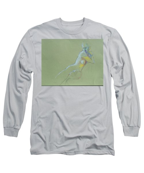 Seated Study Long Sleeve T-Shirt