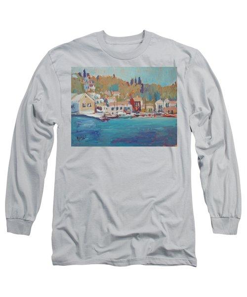 Seaview Lggos Paxos Long Sleeve T-Shirt by Nop Briex