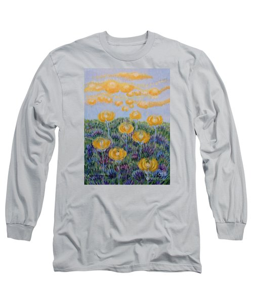Long Sleeve T-Shirt featuring the painting Seeing Through by Holly Carmichael