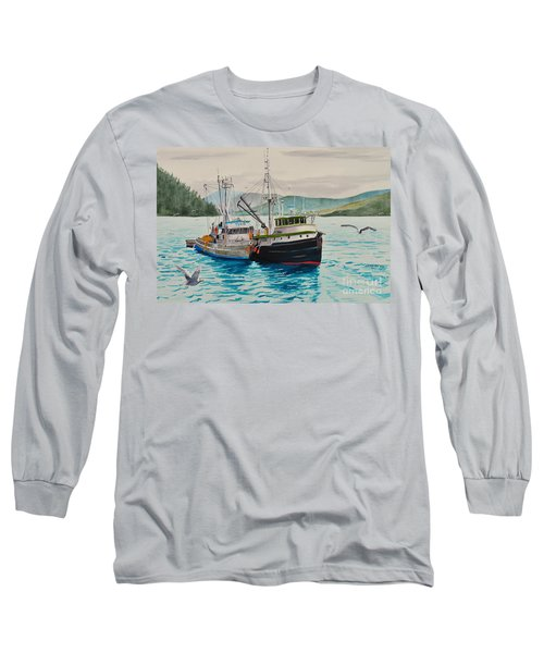 Selling Fish To Peter Pan Long Sleeve T-Shirt