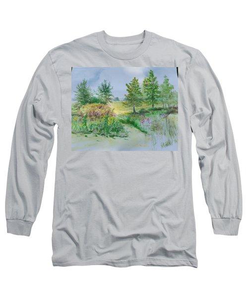 September At Kickapoo Creek Park Long Sleeve T-Shirt