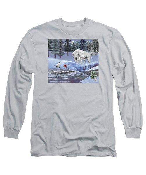 Serenity Long Sleeve T-Shirt by Glenn Holbrook