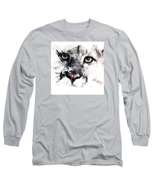Seriously Cougar Long Sleeve T-Shirt