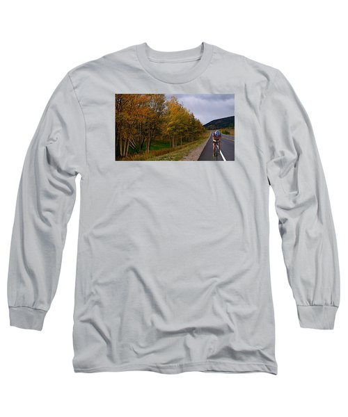 Long Sleeve T-Shirt featuring the photograph Set Your Own Pace by Laura Ragland