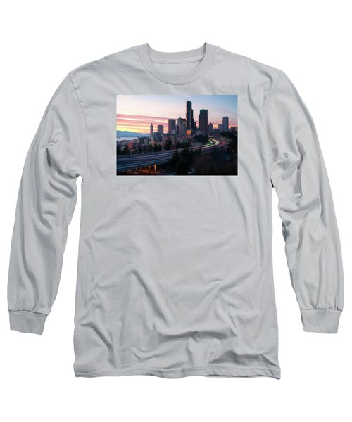 Setting Long Sleeve T-Shirt by Ryan Manuel