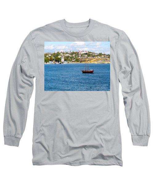 Sevastapol. Ukraine Long Sleeve T-Shirt by Phyllis Kaltenbach