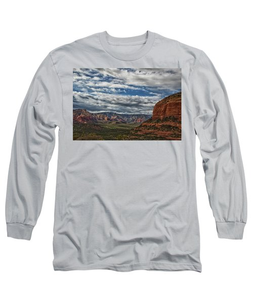 Long Sleeve T-Shirt featuring the photograph Seven Canyons by Tom Kelly