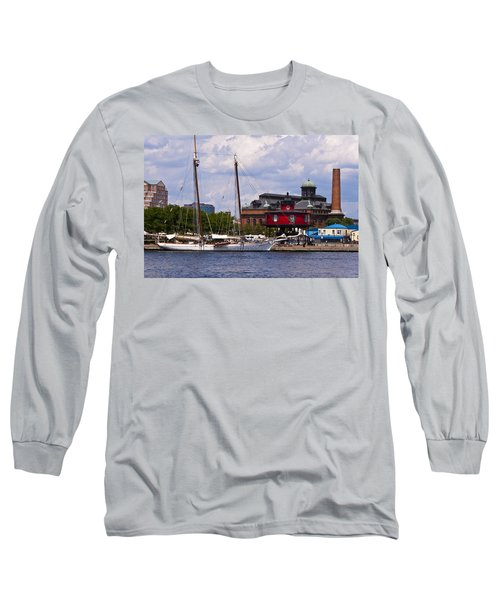 Seven Foot Knoll Lighthouse - Baltimore Long Sleeve T-Shirt