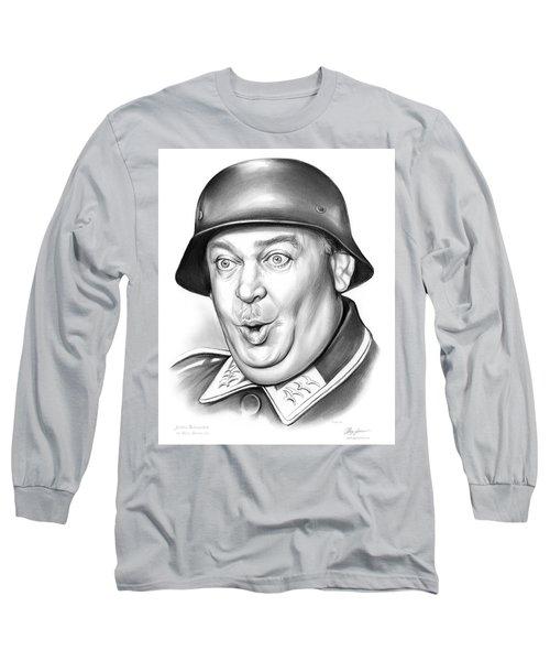 Sgt Schultz Long Sleeve T-Shirt by Greg Joens