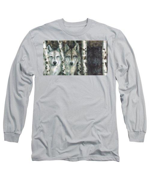 Shades Of Gray Long Sleeve T-Shirt