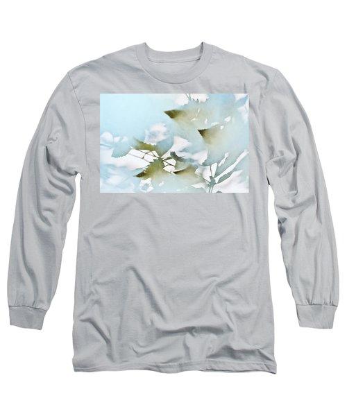 Shadow Leaves Long Sleeve T-Shirt