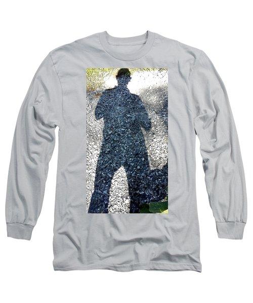 Shadow Man Long Sleeve T-Shirt