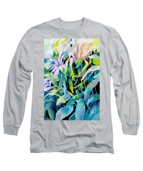 Shadowed Delight Long Sleeve T-Shirt by Rae Andrews