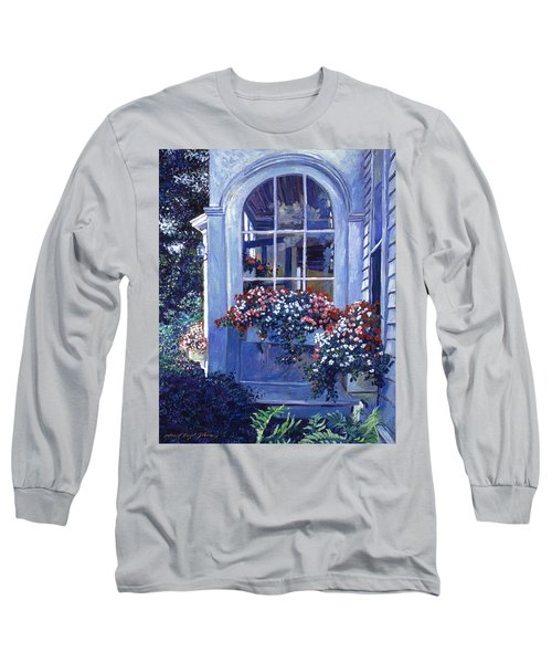 Shady Window Boxes Long Sleeve T-Shirt