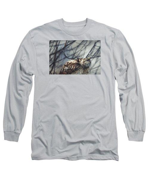 Shake It Off Long Sleeve T-Shirt by Steven Llorca
