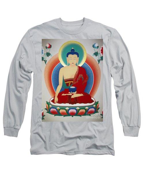 Shakyamuni Buddha  Long Sleeve T-Shirt