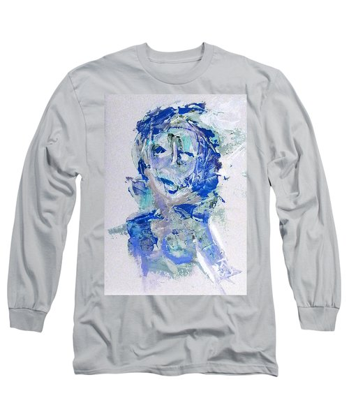 She Dreams In Blue Long Sleeve T-Shirt