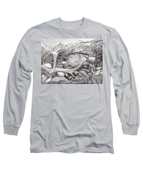 Shed Antler Long Sleeve T-Shirt