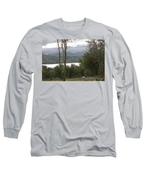Sheep Near Lough Eske Long Sleeve T-Shirt