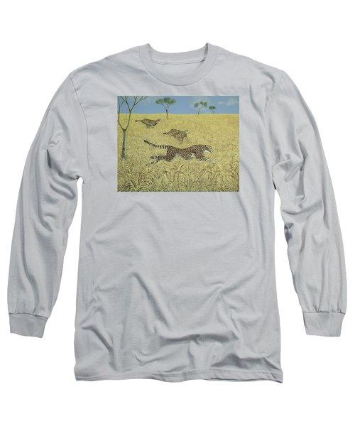 Sheer Speed Long Sleeve T-Shirt by Pat Scott