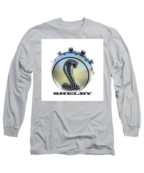Shelby Cobra Art Long Sleeve T-Shirt
