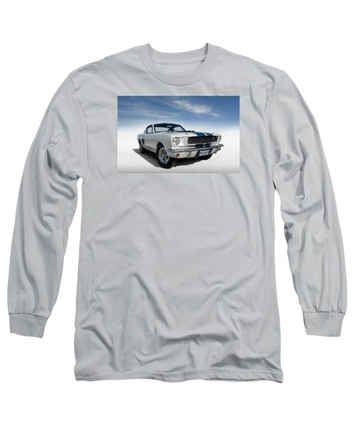 Shelby Mustang Gt350 Long Sleeve T-Shirt by Douglas Pittman