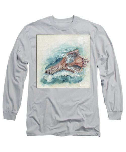 Shell Gift From The Sea Long Sleeve T-Shirt